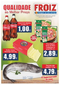 Ofertas Supermercados no folheto Froiz em Coimbra ( Publicado ontem )