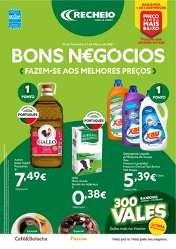 Promoções de Detergente líquido em Recheio