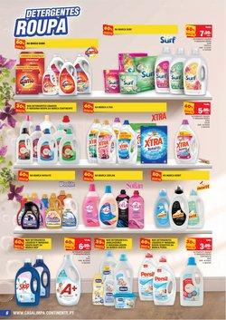 Promoções de Detergente líquido em Continente