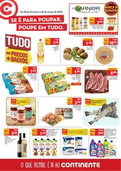 Ofertas Supermercados no folheto Continente em Funchal ( 4 dias mais )