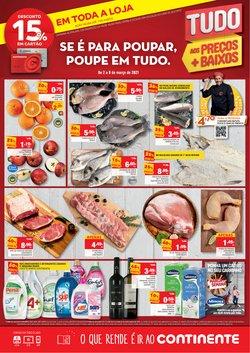 Ofertas Supermercados no folheto Continente em Braga ( Expira amanhã )