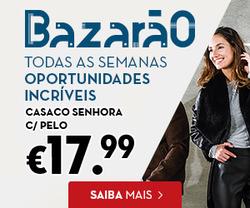 Promoção de Continente no folheto de Lisboa