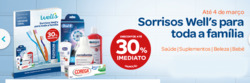 Promoção de Farmácias e Drogarias no folheto de Well's em Lisboa