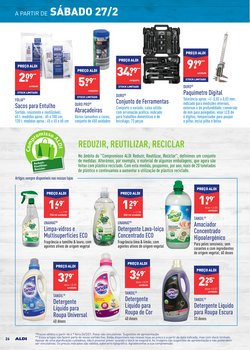 Promoções de Detergente líquido em Aldi