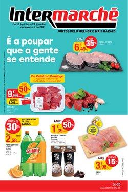 Folheto Intermarché em Lisboa ( Vencido )