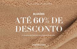 Promoção de H&M no folheto de Funchal