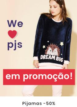 Promoção de Tezenis no folheto de Lisboa