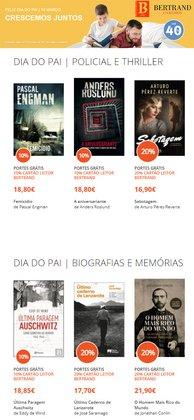 Ofertas Livros e lazer no folheto Bertrand em Porto ( 11 dias mais )