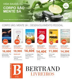 Ofertas de Livros e lazer no folheto Bertrand (  Publicado ontem)
