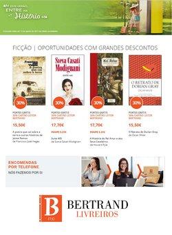 Ofertas de Livros e lazer no folheto Bertrand (  3 dias mais)