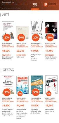 Ofertas de Livrarias, Papelaria e Hobbies no folheto Bertrand (  7 dias mais)