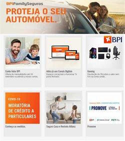 Ofertas Bancos e serviços no folheto Banco BPI em Lisboa ( Mais de um mês )
