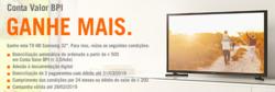 Promoção de Bancos e serviços no folheto de Banco BPI em Portalegre