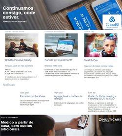 Ofertas Bancos e serviços no folheto Caixa Geral de Depositos em Lisboa ( 24 dias mais )