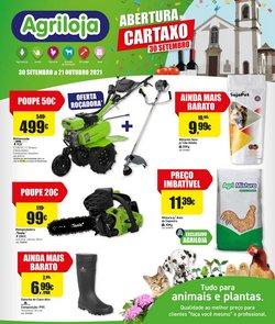 Ofertas de Bricolage, Jardim e Construção no folheto Agriloja (  4 dias mais)