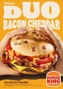 Ofertas de Restaurantes no folheto Burger King (  14 dias mais)