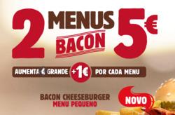 Promoção de Restaurantes e snack-bares no folheto de Burger King em Almada