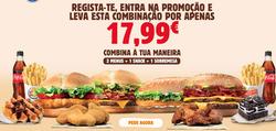 Cupão Burger King em Braga ( 6 dias mais )