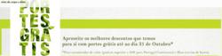 Promoção de Celeiro no folheto de Lisboa
