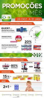 Promoção de Farmácias e Drogarias no folheto de Farmácia Dolce Vita em Lisboa