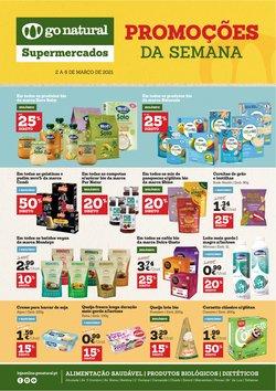 Ofertas Supermercados no folheto Go Natural em Coimbra ( 2 dias mais )