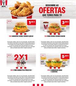 Ofertas Restaurantes no folheto KFC em Lisboa ( 6 dias mais )