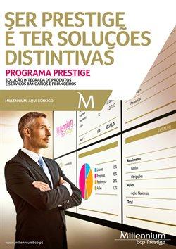 Folheto Millennium Bcp em Lisboa ( Vencido )
