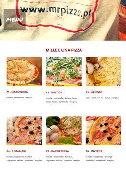 Ofertas Restaurantes no folheto Mr Pizza em Lisboa ( Mais de um mês )