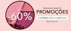Promoção de Perfumarias e beleza no folheto de Douglas em Funchal