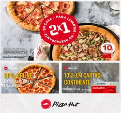 Ofertas Restaurantes no folheto Pizza Hut em Aveiro ( 27 dias mais )