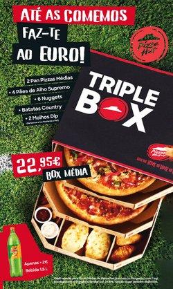 Ofertas de Restaurantes no folheto Pizza Hut (  3 dias mais)