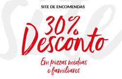 Promoção de Pizza Hut no folheto de Lisboa