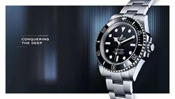Ofertas Marcas de luxo no folheto Rolex ( Mais de um mês )