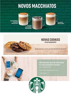 Ofertas Restaurantes no folheto Starbucks em Lisboa ( Mais de um mês )