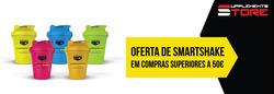 Promoção de Supplements Store no folheto de Lisboa
