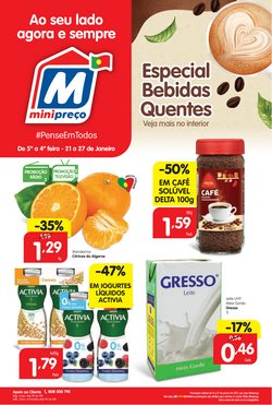Folheto Minipreço ( 2 dias mais )