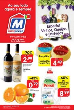 Folheto Minipreço em Lisboa ( Vencido )