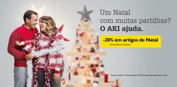 Promoção de AKI no folheto de Alcobaça