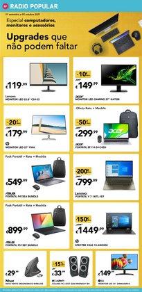 Ofertas de Informática e Eletrónica no folheto Radio Popular (  Publicado hoje)