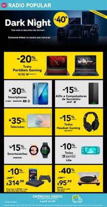 Ofertas de Informática e Eletrónica no folheto Radio Popular (  Expira hoje)