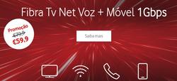 Promoção de Vodafone no folheto de Lisboa