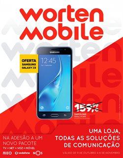 Promoção de Informática no folheto de Worten Mobile em Lisboa