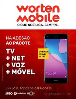 Promoção de Worten Mobile no folheto de Lisboa