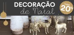 Promoção de Natal no folheto de Moviflor em Lisboa