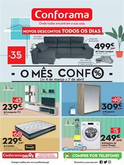 Ofertas Casa e decoração no folheto Conforama em Funchal ( Publicado há 2 dias )