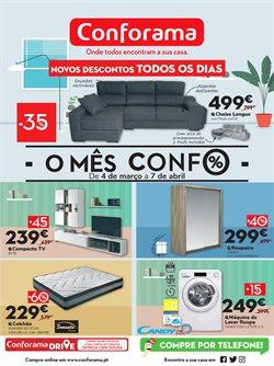 Ofertas Casa e decoração no folheto Conforama em Lisboa ( Publicado há 3 dias )