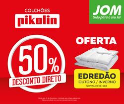 Promoção de JOM no folheto de Lisboa