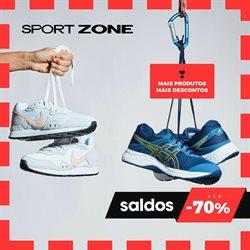 Folheto Sport Zone ( Mais de um mês )