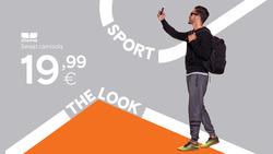 Promoção de Sport Zone no folheto de Porto