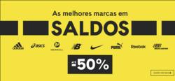 Promoção de Desporto no folheto de Sport Zone em Alcobaça
